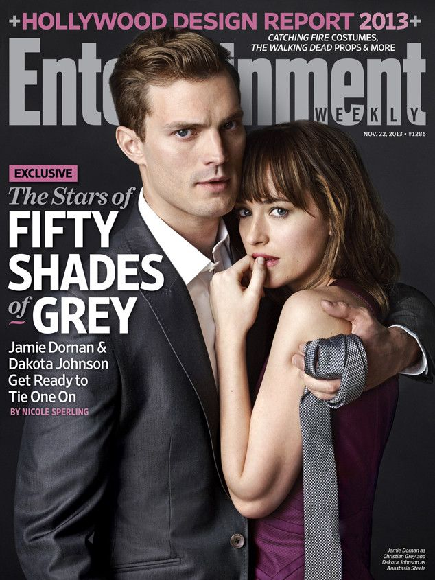 Say hello to Christian Grey and Anastasia Steele! Don't Jamie Dornan and Dakota Johnson make the perfect pair for Fifty Shades of Grey?!