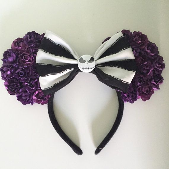 Nightmare Before Christmas Ears  by MissMartis01 on Etsy