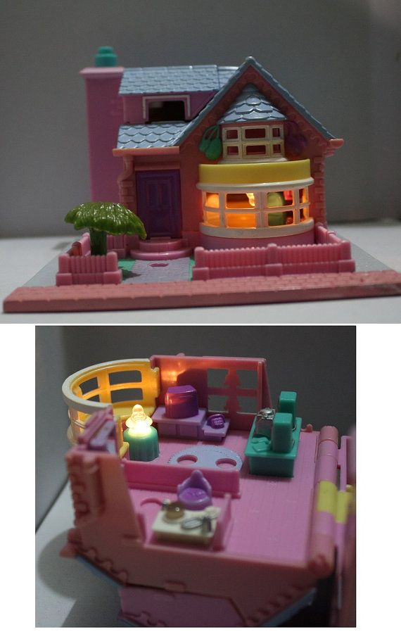 Polly Pocket Bay Window House '93 COMPLETE
