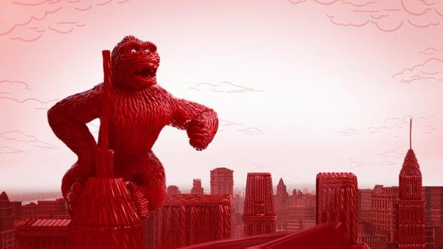 "Twizzlers ""King Kong Twizzlerize"" :15 by Brand New School. Project Title: Twizzlers ""King Kong Twizzlerize"" :15"