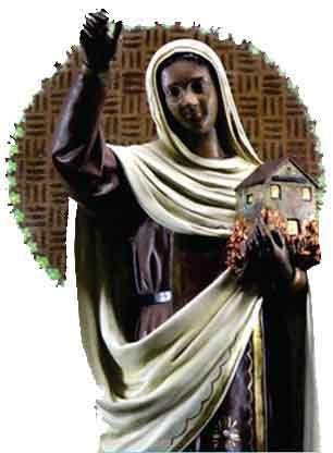 Efigênia ou Ifigénia é umasantacatólica, uma das responsáveis pela disseminação doCristianismo naEtiópia. É festejada no dia21 de s...