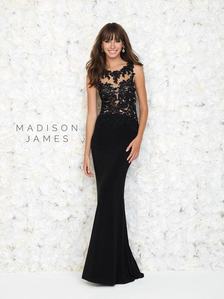 81 best Sleek Black images on Pinterest | Party wear dresses, Formal ...