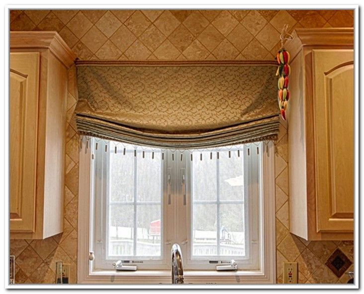 11 Interesting Tuscan Kitchen Window Treatments Foto