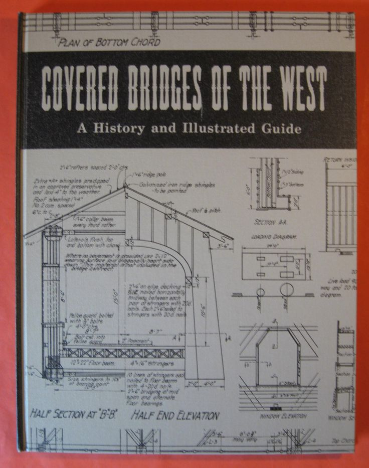 Covered Bridges of the West: a History and Illustrated Guide - Washington, Oregon and California by Pistilbooks on Etsy