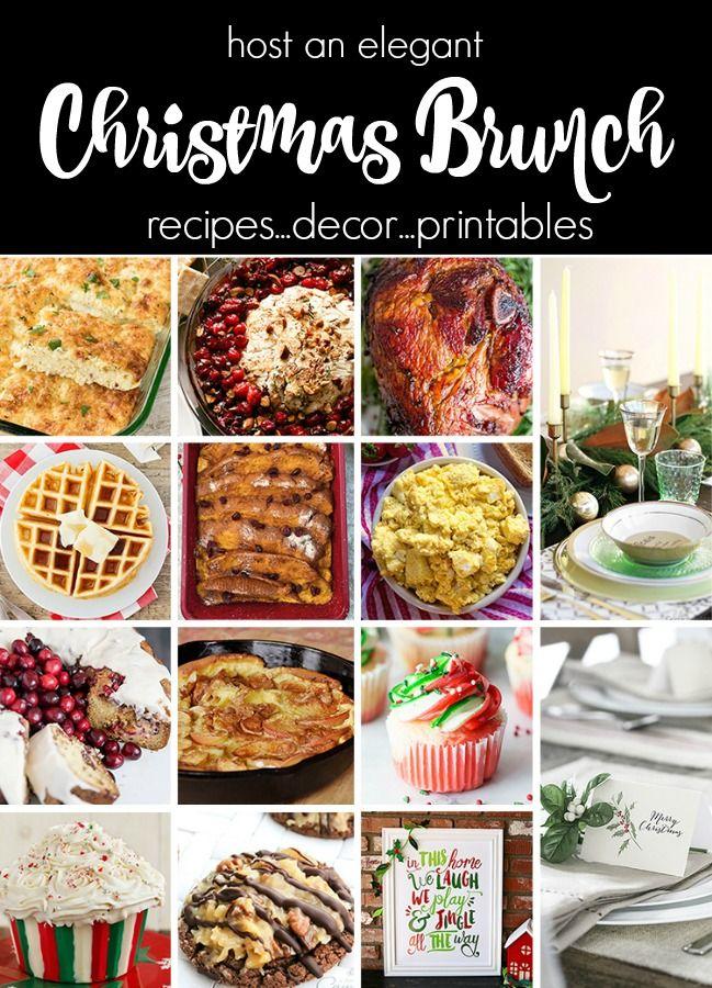 Plan An Elegant Christmas Brunch Celebrations At Home Christmas Brunch Recipes Brunch Recipes Holiday Meal Planning