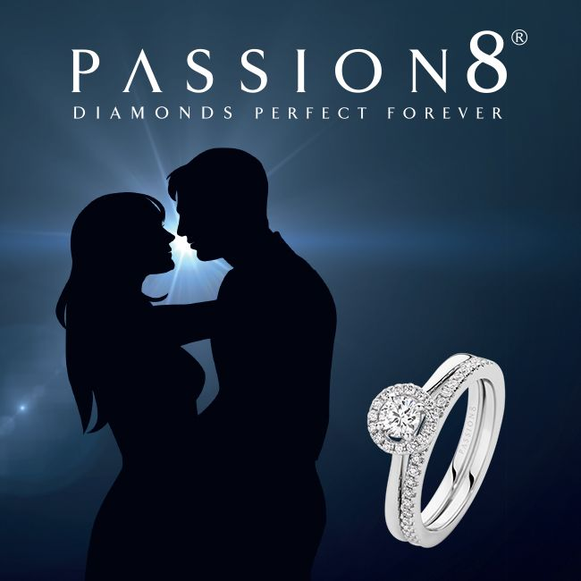 Passion8 Diamonds. High quality cut and perfect forever. Available at York Jewellers.