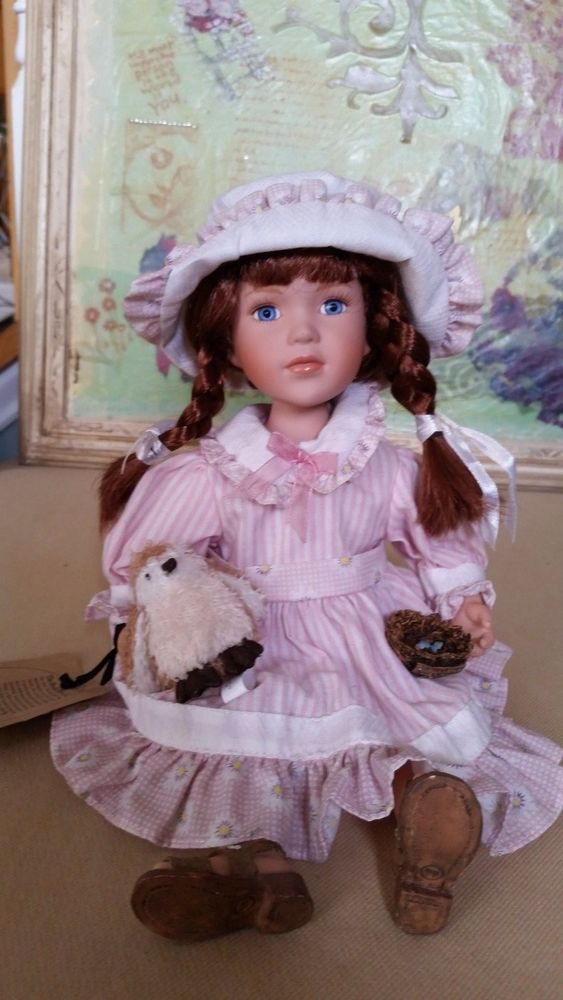 BOYDS MY BEST FRIEND COLLECTION ANGIE PORCELAIN DOLL #4837 ...