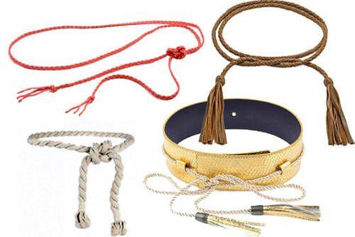 #LoMásFashion: Cordones que sirven como cinturón y le agregan un toque rustico y a la #moda a la vestimenta