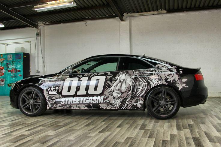 """King Tiki — Audi S5   Студия дизайна """"ТРАФАРЕТ-ТАТУ"""""""