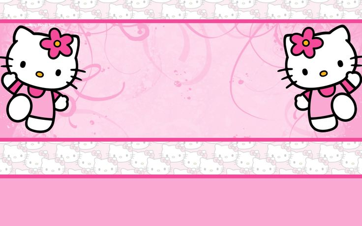 download Pink Hello Kitty Background 1920x1200 for android