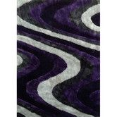 found it at allmodern living shag purplegray rug