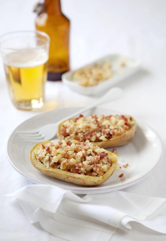 Receta 231: Patatas rellenas con jamón » 1080 Fotos de cocina