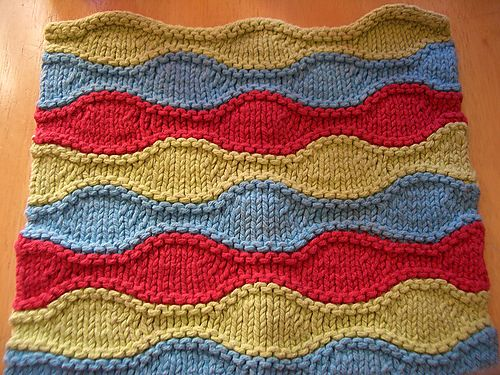 Lizard Ridge Dishcloth by Laura Aylor