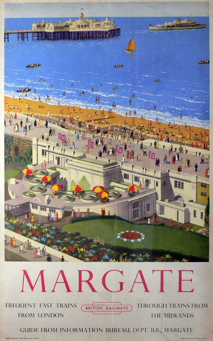 Margate. That formerly uncool seaside resort in north-west Kent, has had quite the revamp. It is part of Thanet, which also includes the seaside towns of Ramsgate and Broadstairs, and was recently mentioned in Frommers must-see destinations for 2011. Margate is packed with quirky cafes and vintage shops, and it's also home to the new Turner Contemporary gallery.