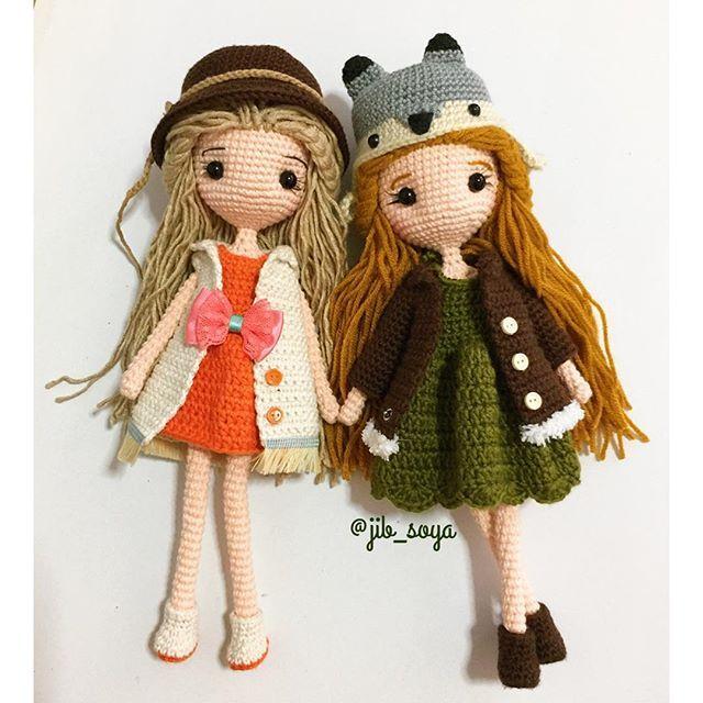 ไปเที่ยวๆ#handmade #crochet #amigurumi #cute #gift #girl #jibsoya