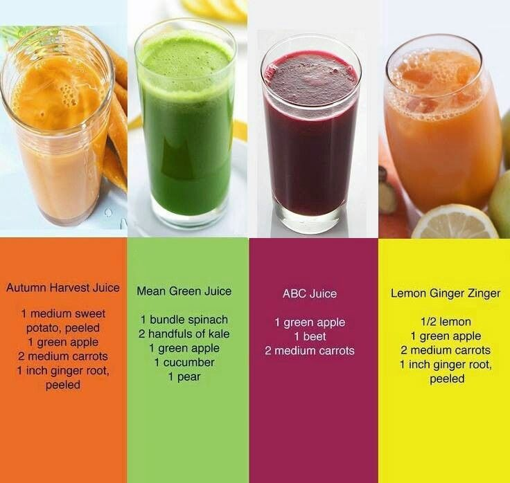 Here are four juice recipes to try... (from My Homestead Gallery)