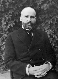 Piotr Arkádievich Stolypin  (Dresde, 14 de abril de 1862-Kiev,18 de septiembre de 1911greg.) fue un político ruso. Primer ministro y ministro del Interior del zar Nicolás II de Rusia desde 1906 hasta 1911.