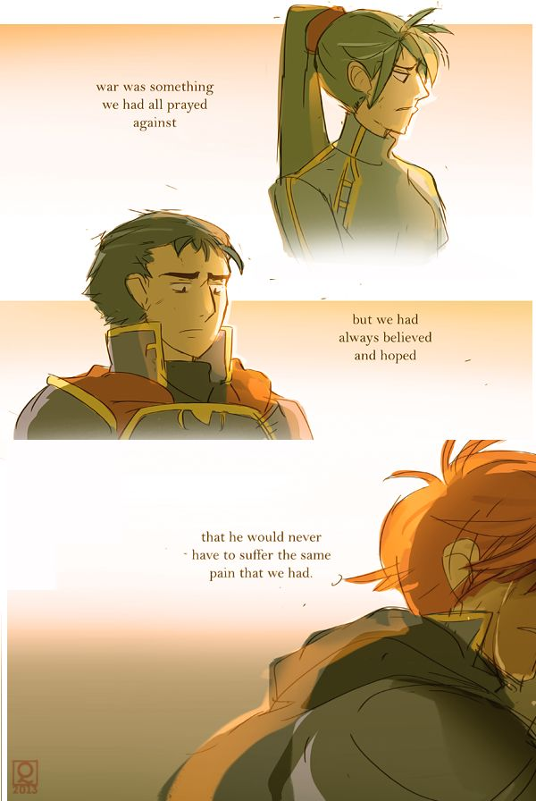 This actually makes me wanna cry. Lyn, Hector, Eliwood: the loss of a parent (Rekka no Ken) Fire Emblem