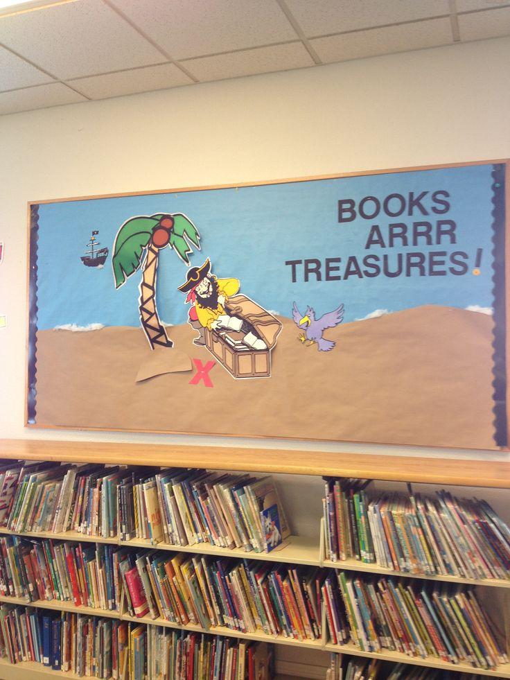 Classroom Discipline Ideas ~ Pirate bulletin board program pinterest