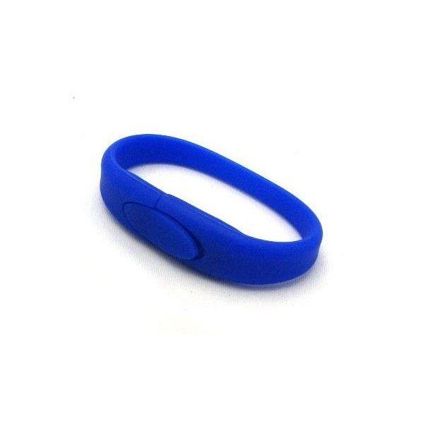 8 GB USB Bracelet. Gadget plastarmbånd med indbygget USB nøgle på 8 GB. Brug det som opbevaring af dokumenter, fotos osv. fra din computer. Gem armbåndet blandt de billige smykker og ingen opdager dine filer.