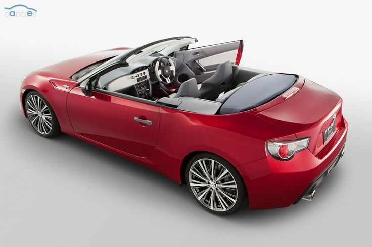 TOKYO MOTOR SHOW: Toyota 86 Convertible wanted in Australia
