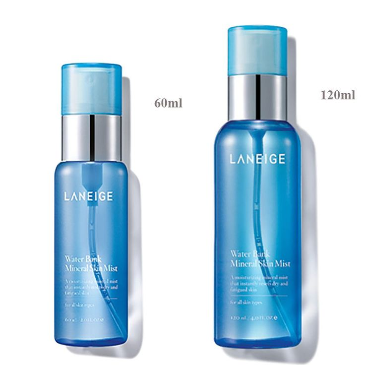 [LANEIGE] Water Bank Mineral Skin Mist  60ml /120ml  by Amore Pacific #Laneige