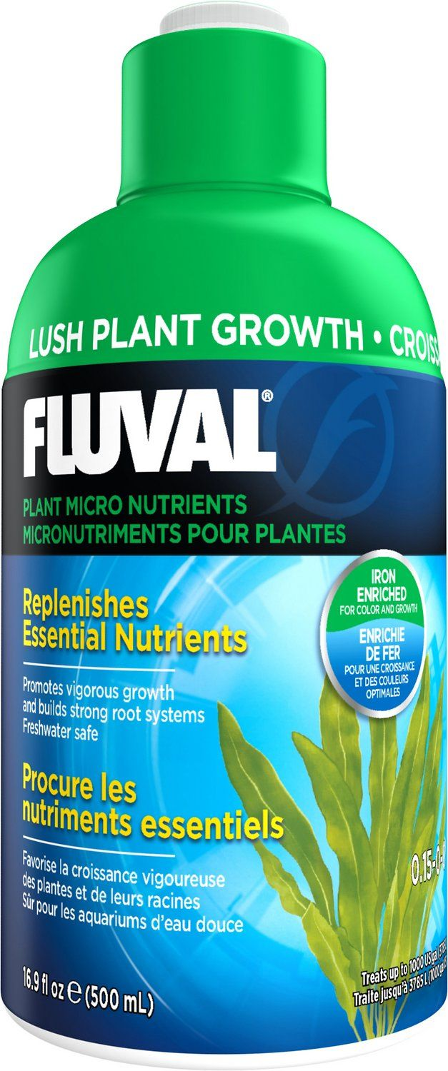 Freshwater aquarium fish vitamins - Fluval Plant Micro Nutrients Plant Care 16 9 Oz Bottle