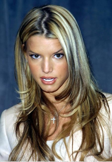 Young Jessica Simpson Looove This Color Jessicasimpson