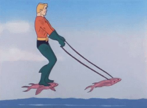And then there's Aquaman.