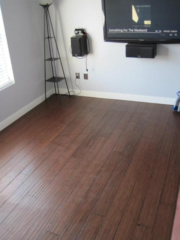 "Morning Star 9/16"" x 5-1/8"" Handscraped Honey Strand Bamboo   kitchen ideas   Flooring, Bamboo hardwood flooring, Bamboo wood flooring"