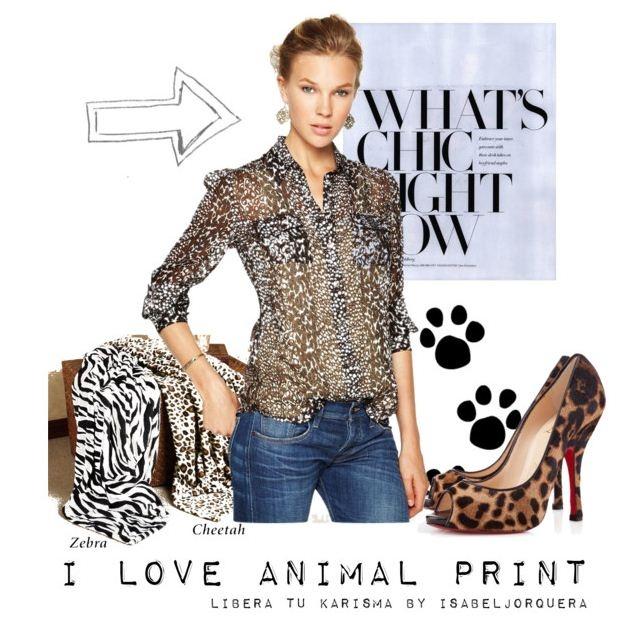 Animal print por todas partes, pero ¿sabemos combinarlo??
