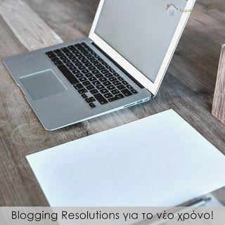 Κυριακή στο σπίτι...: Blogging Resolutions για το νέο χρόνο!