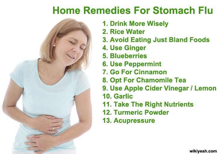 Looking for home remedies for stomach flu cramps in babies, toddlers and adults? Here're 13 natural treatments to stomach flu virus...