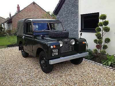 "1961 series 2 LAND ROVER 88"" GREEN truck cab/pickup,Diesel,tax exempt,classic"