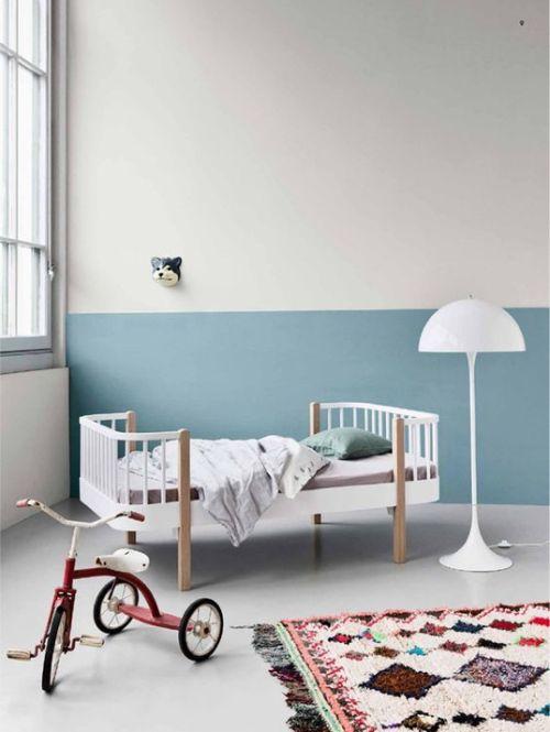 Deens junior bed met Marokkaans vloerkleed - bekijk en koop de producten van dit beeld op shopinstijl.nl