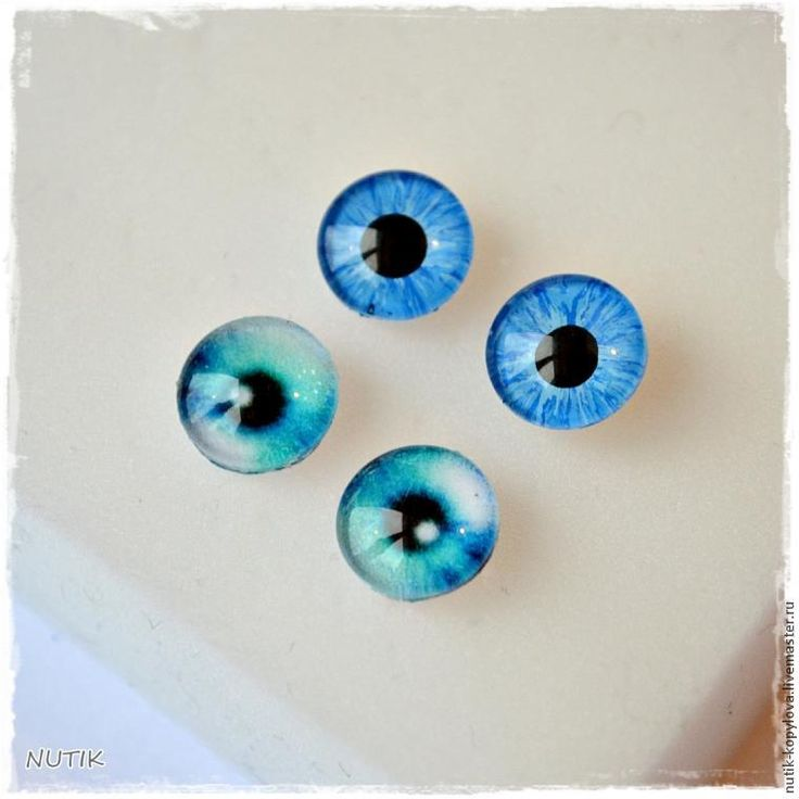 Glass eyes for toys with their own hands - Fair Masters - handmade, handmade