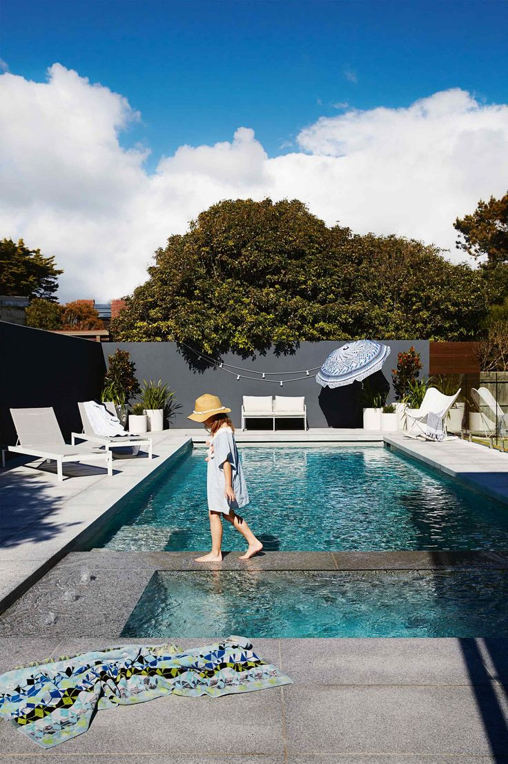 15 of the best backyard pools. Photography by Armelle Habib. Styling by Heather Nette King.