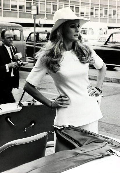 18th September 1969, Actress Ursula Andress, born 1936, in...