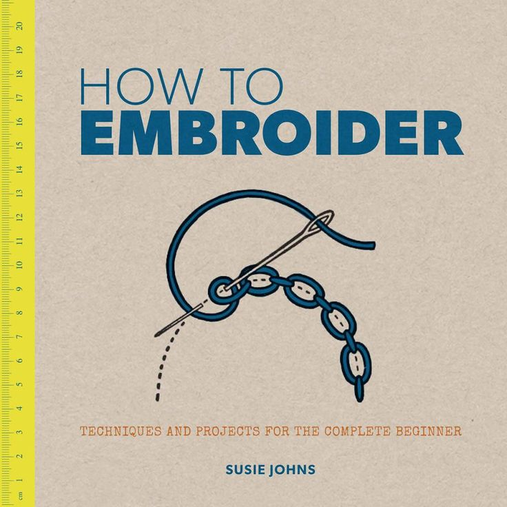 Guild Of Master Craftsman Books-How To Embroider