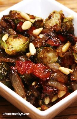 Cider-Glazed Brussels Sprouts with Caramelized Onions
