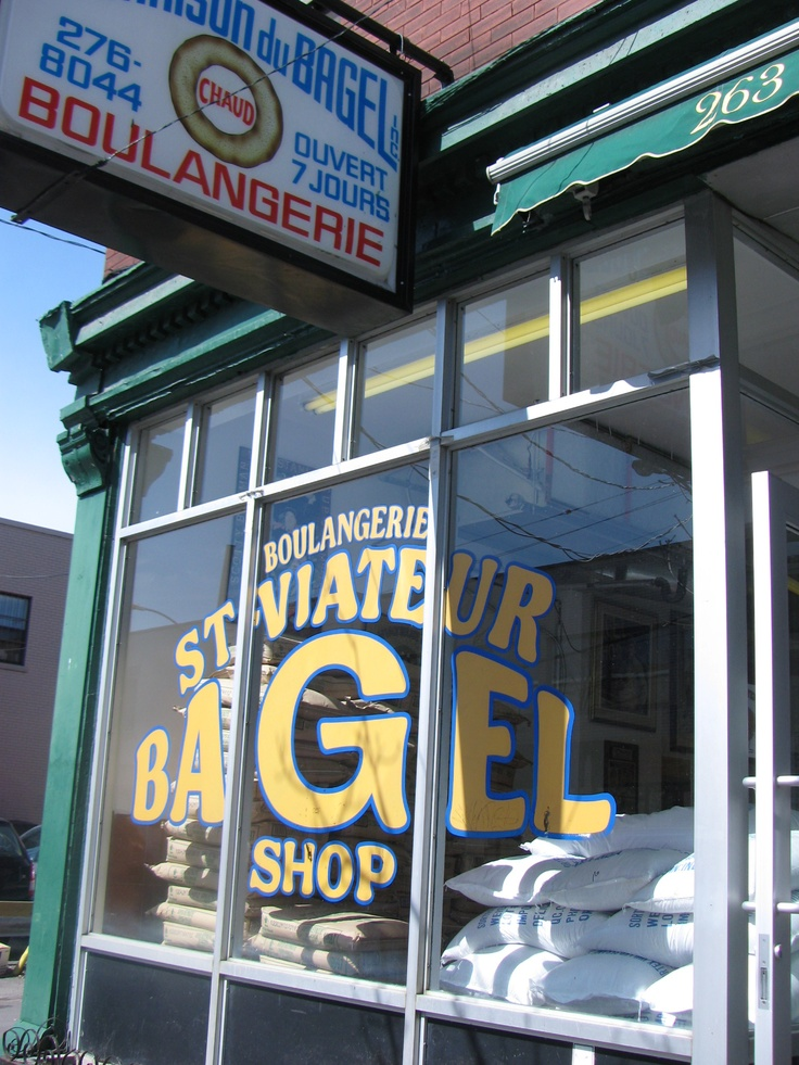 Best bagels in the WHOLE WORLD Montreal, Canada -