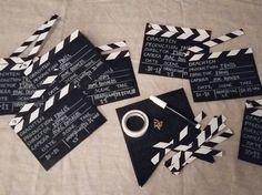 DIY-projectje: uitnodigingen met mijn jongste gemaakt voor haar verjaardagsfeestje. Je raadt het al  we gaan naar de bioscoop! benodigdheden: krijtbord papier vlaggenlijn hema krijtbordstift splitpennen en een rolletje witte tape. Nog bedankt voor de vele reacties op mijn kast! Super  #uitnodiging #feestje #verjaardag #birthday #birthdaygirl #bioscoop #film #movi #dochter #daughter #diy #knutselen #filmklapper #home #hema #action