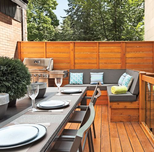 1000+ images about Terrasse on Pinterest Decking, Back deck and ...