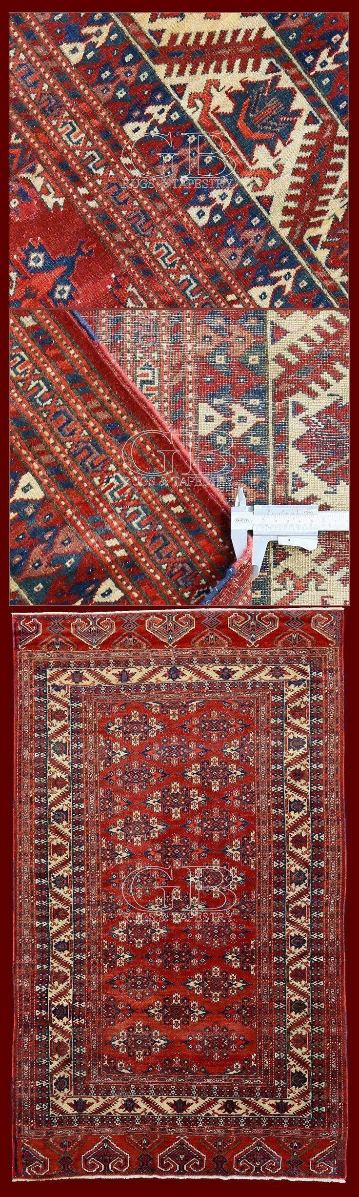 ANTIQUE YOMUT TURKMEN 275 x 160 | 140534336473 | GB Rugs