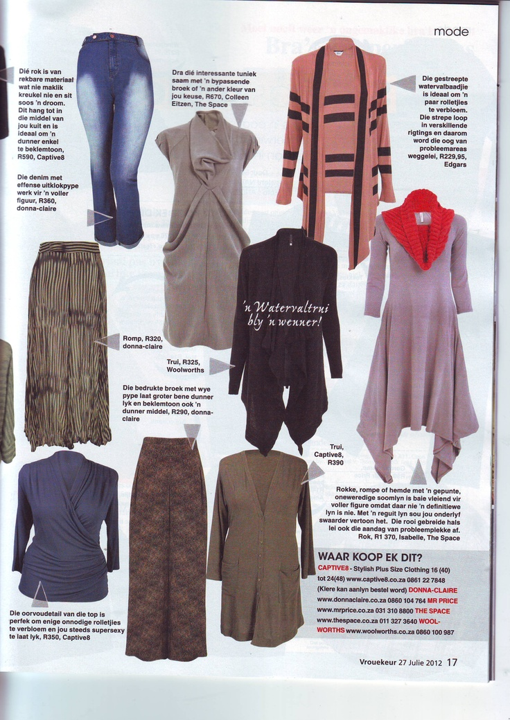 Captive8's Carey-Anne wrap top in Vrouekeur Magazine #plussizestyle