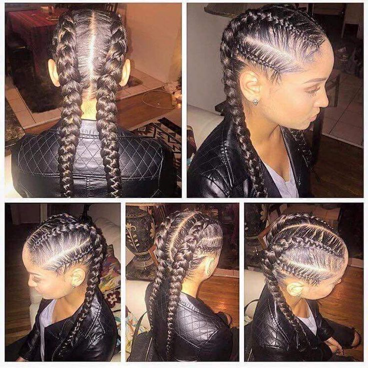 Astonishing 1000 Ideas About Cornrows Natural Hair On Pinterest Styling Hairstyles For Women Draintrainus