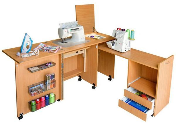 Стол для шитья Комфорт-3XL - Комфорт - sewings.ru