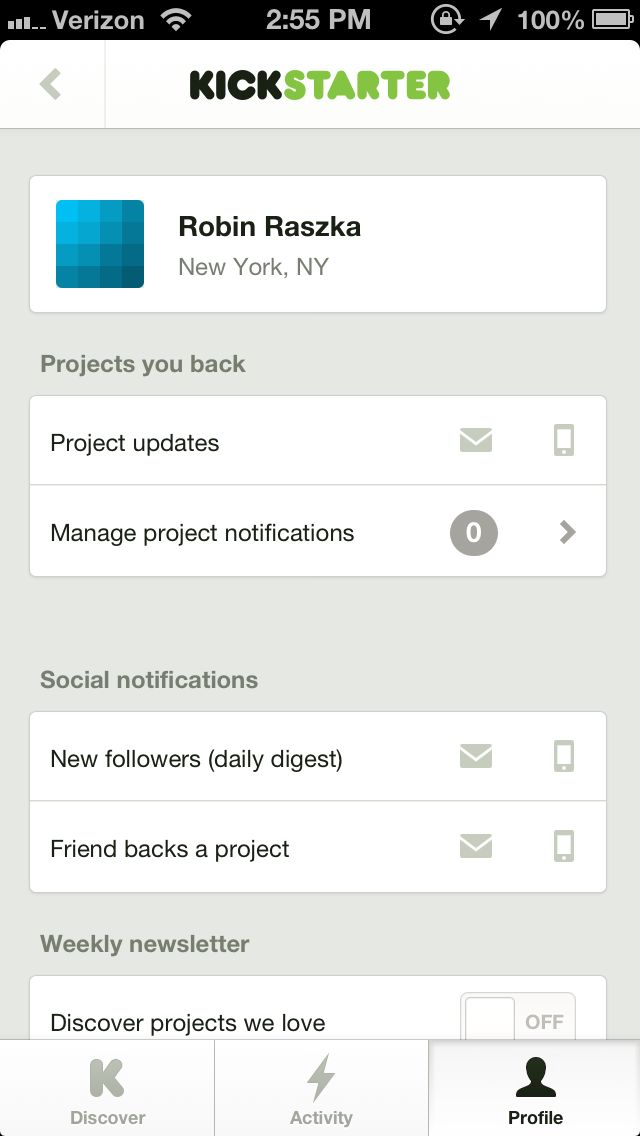 Pttrns — Mobile User Interface Patterns