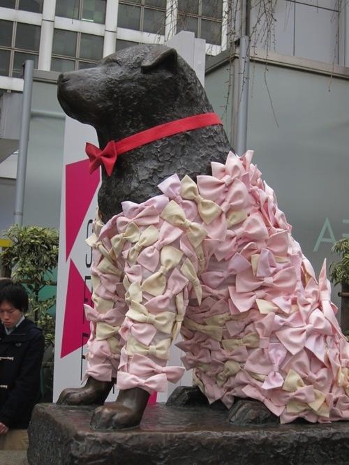 忠犬ハチ公 shibuya tyokyo