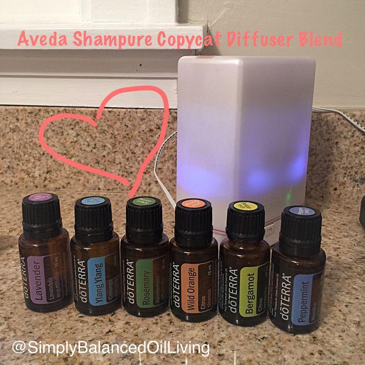 AVEDA Shampure Copycat Diffuser Blend. Essential Oil Diffuser Blend. doTERRA Diffuser Blend.